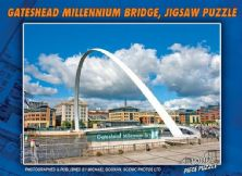 The Gateshead Millennium Bridge 1000 Piece Jigsaw Puzzle